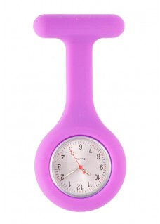 Silicone Nurses Fob Watch Standard Purple