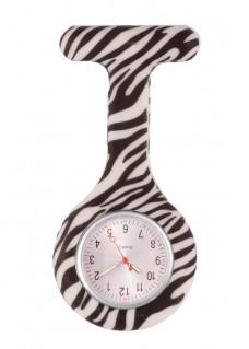 Nurses Fob Watch Zebra