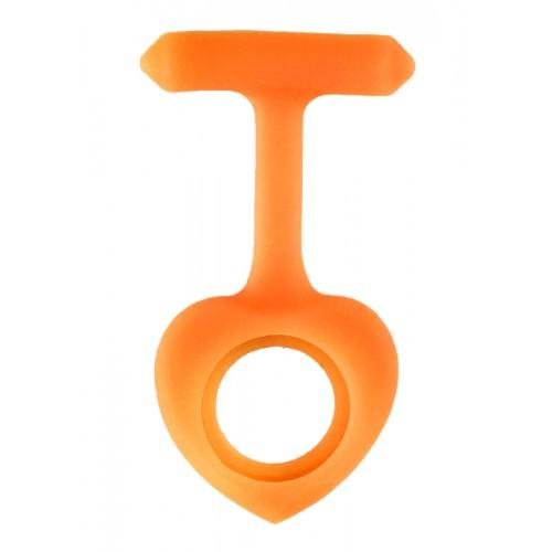 Silicone Cover Heart Orange