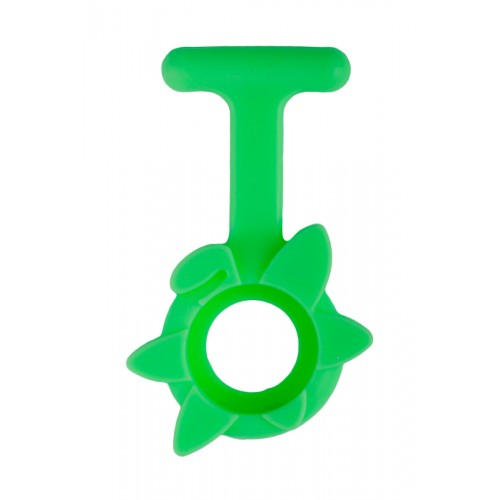 Silicone Cover Spring Flower Lime Green