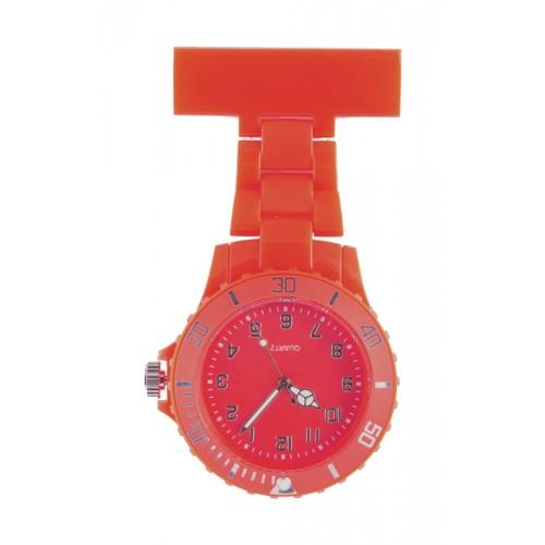 Neon Nurses Fob Watch Red