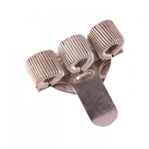 Pocket Penclip Triple Silver