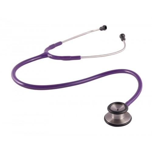 Clinical Dual Head Stethoscope Purple