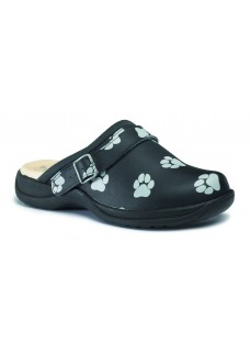 size 42 Toffeln UltraLite Black Grey Paw OUTLET