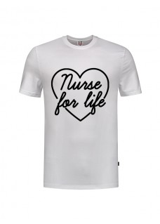 T-Shirt Nurse For Life White