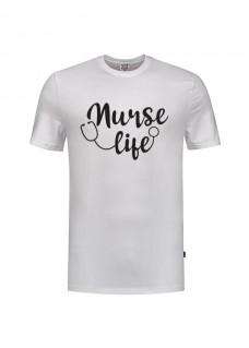 T-Shirt Nurse Life White
