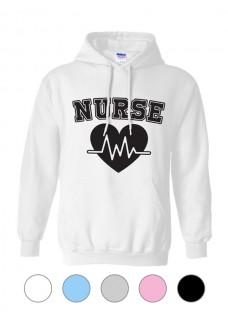 Gildan Hoodie Nurse Number 1 ECG