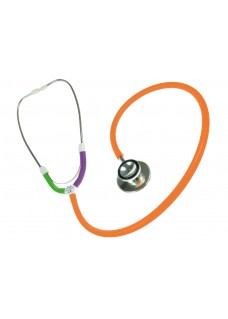 CBC Dual Head Stethoscope Multi Orange