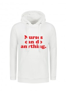 Hoody Nurses Can Do Anything White