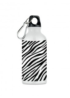 Drink Bottle Zebra