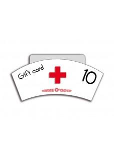 Gift Voucher NurseO'Clock 10 euro