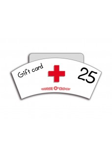 Gift Voucher NurseO'Clock 25 euro