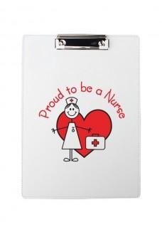 Clipboard A4 Stick Nurse