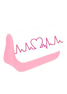 Instruments Case Heart Beat Pink