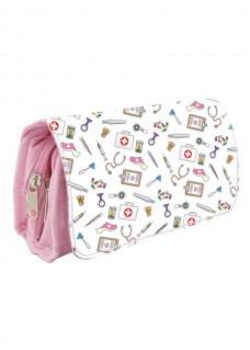 Instruments Case Medical Symbols Pink