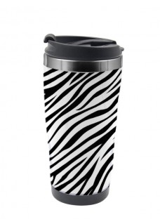 Thermo Travel Mug Zebra