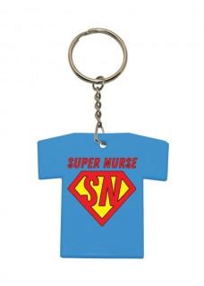 Key Chain T-Shirt Super Nurse