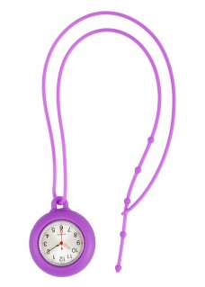 Silicone Lanyard Watch Purple