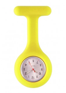 Silicone Nurses Fob Watch Standard Yellow