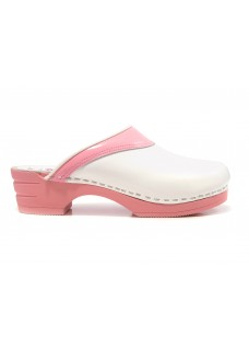 LAST CHANCE size 41 Moofs Pink and White