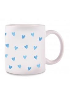 Mug Blue Hearts