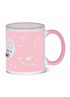 Mug Proud to be a Nurse 3 Pink