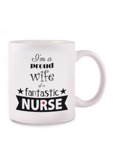 Mug Nurse Proud Wife