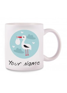 Mug Stork Baby