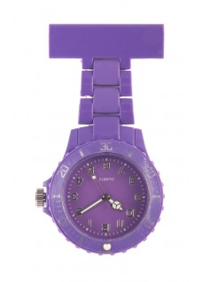 Neon Nurses Fob Watch Purple