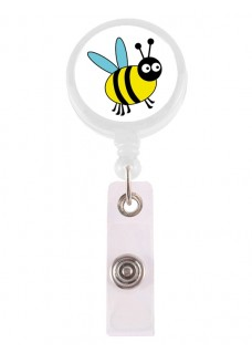 Retracteze ID Holder Bee