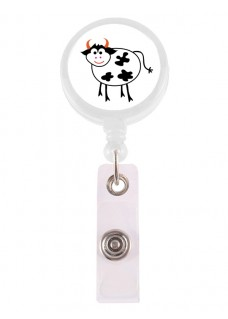 Retracteze ID Holder Cow
