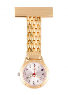 Elegant Fob Watch Gold