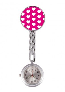 Fob Watch Hearts