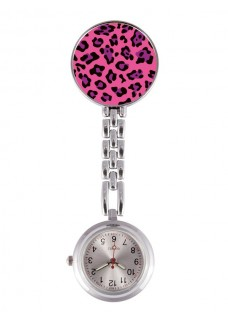 Fob Watch Panther Pink