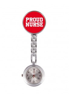 Fob Watch Proud Nurse