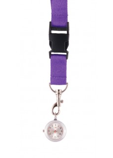 Lanyard Watch Purple
