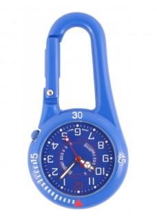 Nurse Clip Watch NOC450 Royal Blue