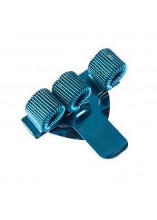 Pocket Penclip Triple Blue