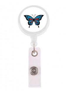 Retracteze ID Holder Butterfly