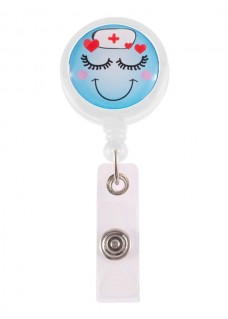 Retracteze ID Holder Lovely Nurse