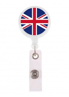 Retracteze ID Holder Union Jack
