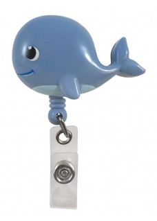 Deluxe Retracteze ID Holder Whale
