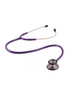 Clinical Dual Head Stethoscope Purple