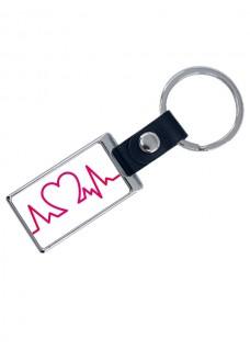 Luxe Key Chain Heartbeat