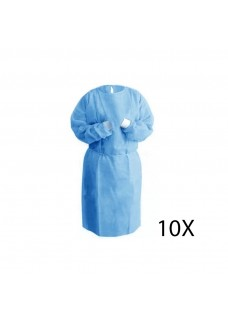 SMS Isolation Gown 10 pcs