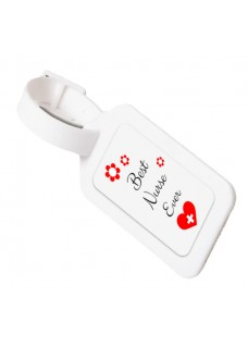 Luggage ID Tag Best Nurse