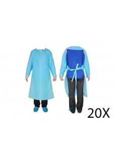Disposable PE Gown 20 pcs
