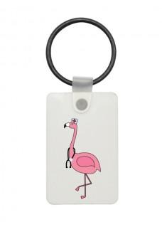 USB Stick Key Chain Flamingo