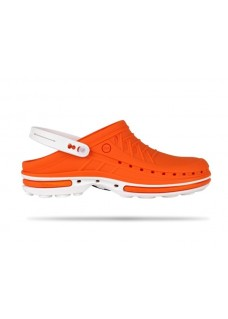Wock Clog 05 White / Orange