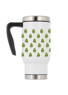 Thermo Travel Mug Avocados